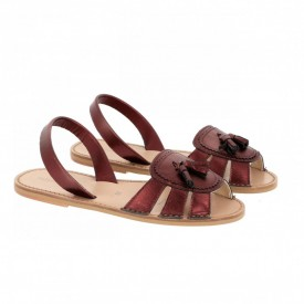 Sandale din piele naturala AVARCA NEO 2 Marsala