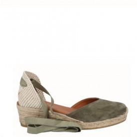 Sandale din piele naturala MERIVA Khaki