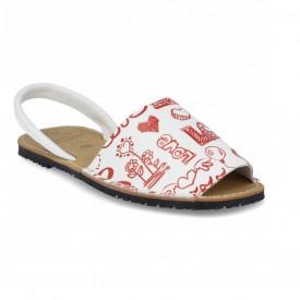 Sandale de dama din piele naturala, AVARCA AMORE
