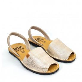 Sandale din piele AVARCA SILK Beige