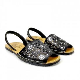 Sandale din piele AVARCA SPRING Black