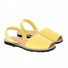 Sandale din piele naturala AVARCA MINORQUINES Lemon