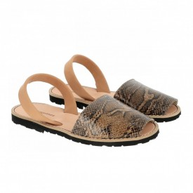 Sandale din piele naturala AVARCA MINORQUINES Snake