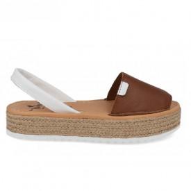 Sandale din piele naturala AVARCA NATURO Brown