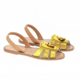 Sandale din piele naturala AVARCA NEO 2 Yellow
