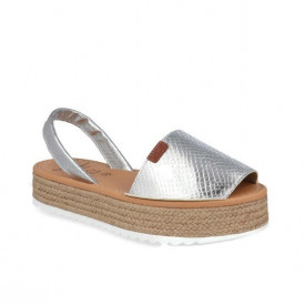 Sandale din piele naturala AVARCA VIDA SILVER