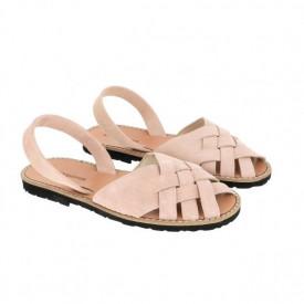 Sandale din piele naturala MINORQUINES Compostelle Rose