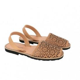 Sandale din piele naturala MINORQUINES Laser Natural
