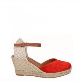 Sandale din piele naturala SAMBA Red