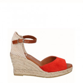 Sandale din piele naturala SILVIA Red