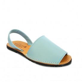 Sandale din piele AVARCA CLASIC Bleu Ciel