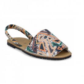 Sandale de dama din piele naturala, AVARCA JUNGLE