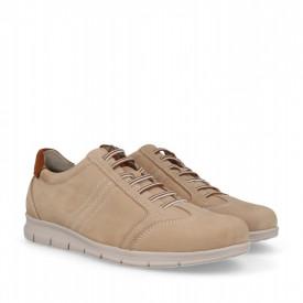 Pantofi din piele naturala LAROCHE Beige