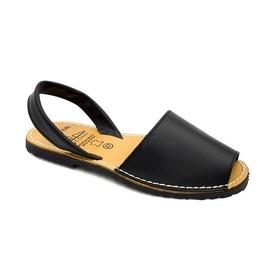 Sandale din piele AVARCA CLASIC Black