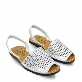 Sandale din piele AVARCA Rocket White