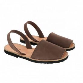 Sandale din piele intoarsa AVARCA MINORQUINES Ebony Men