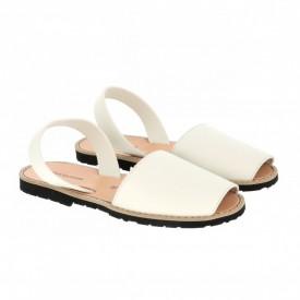 Sandale din piele intoarsa AVARCA MINORQUINES Nude