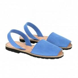 Sandale din piele intoarsa AVARCA MINORQUINES Ocean
