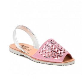 Sandale din piele naturala AVARCA AURA Pink