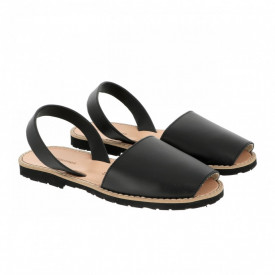 Sandale din piele naturala AVARCA MINORQUINES Black
