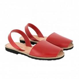 Sandale din piele naturala AVARCA MINORQUINES Red