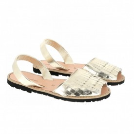 Sandale din piele naturala AVARCA MINORQUINES Sirena Gold