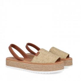 Sandale din piele naturala AVARCA RUSTIC