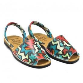 Sandale din piele naturala, AVARCA SHAPES