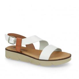 Sandale din piele naturala DANA White
