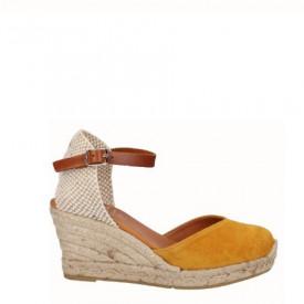 Sandale din piele naturala SAMBA Yellow