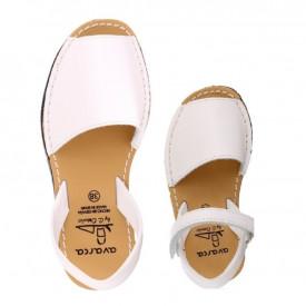 Set mama-copil sandale AVARCA Clasic White