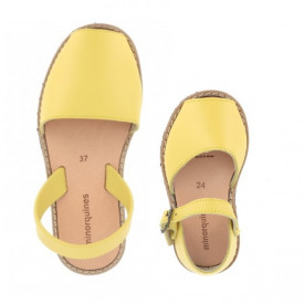 Set mama-copil sandale MINORQUINES Lemon
