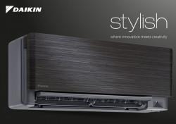 Promo Unitate Interioara pentru Aparat de aer conditionat Daikin Stylish Blackwood FTXA25BT - RXA25A Bluevolution Inverter, A+++ ,WiFi inclus 9.000 btu