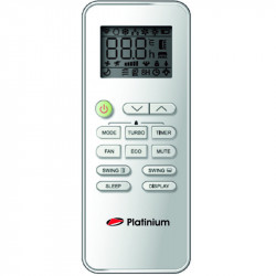 Telecomanda pentru Aparat de Aer conditionat Platinium, PwiFi-24BION++UV, Inverter,Wi-Fi, 24000 BTU