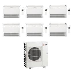 Posibilitate de selectii multiple pentru Unitate interna Mitsubishi Electric consola,KJ R410 MFZ-KJ50 18000BTU
