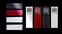 Telecomanda 2 pentru Aparat de Aer Conditionat cu Inverter Mitsubishi Electric SERIA LN, BLACK 12000 BTU, R32