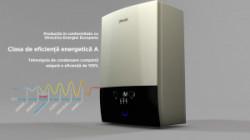 4. Centrala cu condensare Daikin 24 kW D2CND024A1A, Incalzire si Apa calda instant