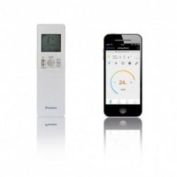 Telecomanda si Comanda Smart-Phone pentru Aparat de aer conditionat Daikin Emura Bluevolution FTXJ50MW-RXJ50M Inverter 18000 BTU White