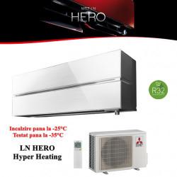 Promo pentru Aparat de Aer Conditionat cu inverter Mitsubishi Electric  SERIA LN, WHITE 12000 BTU, R32
