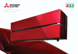 Unitate Interioara pentru Apart de Aer Conditionat cu Inverter Mitsubishi Electric SERIA LN, RED 9000 BTU, R32