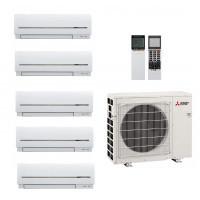 Posibilitati multiple de selectie pentru Unitate interna aer conditionat tip split de perete Mitsubishi Electric MSZ-SF15, 5000 BTU, R410A
