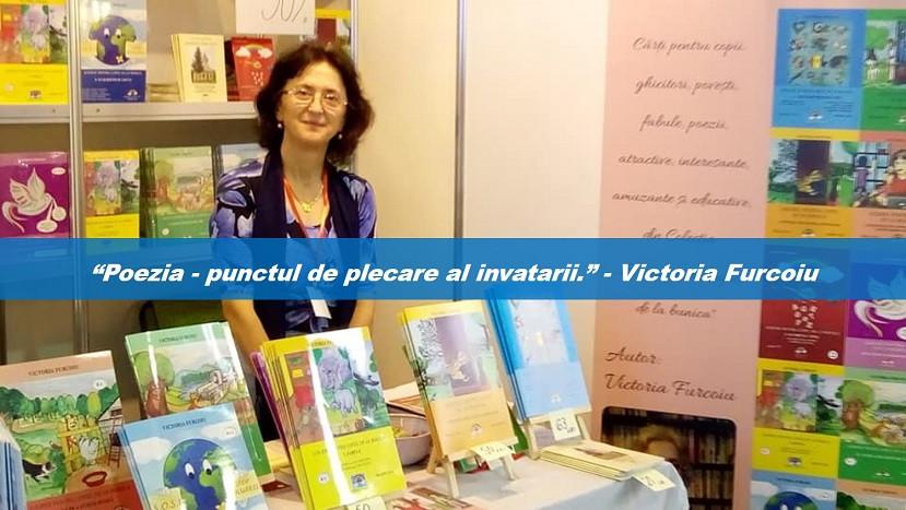 Poezia si educatia copiilor - cu Victoria Furcoiu