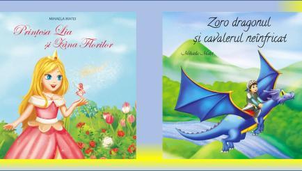 Magia copilariei in cartile de povesti ilustrate scrise de Mihaela Matei