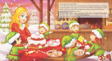 Ada, the freckled elf and Santa Claus - interior 2