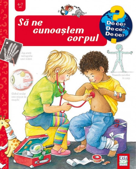 Enciclopedie Sa ne cunoastem corpul 4-7 ani - coperta