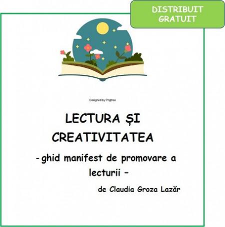 Ghid manifest de lectura si creativitate - distribuit gratuit