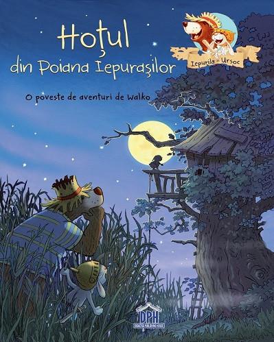 Hotul din Poiana Iepurasilor - o poveste ilustrata antrenanta