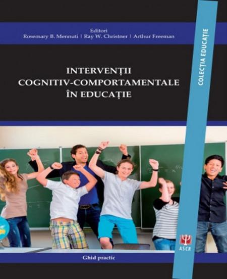 Interventii cognitiv-comportamentale in educatie - coperta