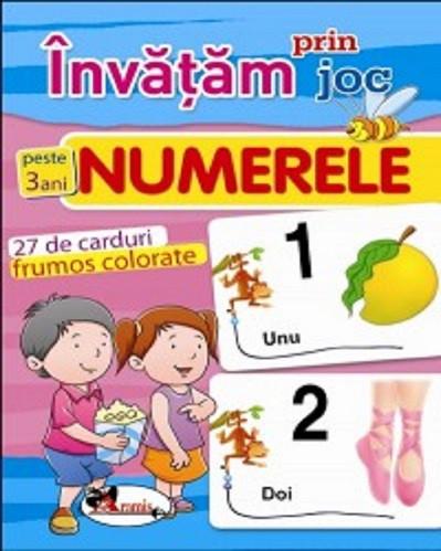 Invatam prin joc - Numerele - carduri educative pentru copiii de gradinita