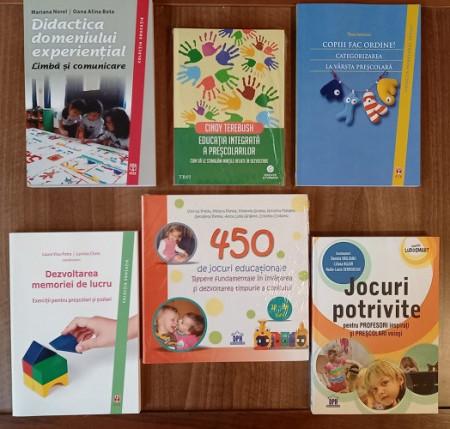 Pachet promo Invatamant Prescolar - 6 carti urile educatoarelor